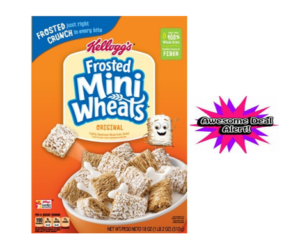 1 CVS Deal - Kellogg's Frosted Mini Wheats Cereal