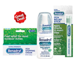1 Publix Deal - Benadryl Topical Products
