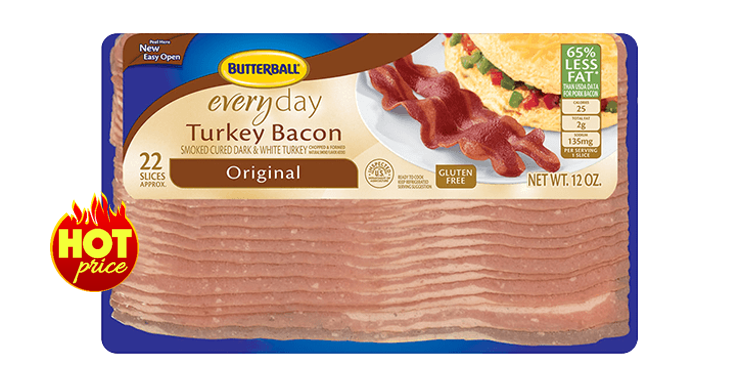 picture relating to Butterball Coupons Turkey Printable called Publix Package deal upon Butterball Turkey Bacon * Coupon-Wizards