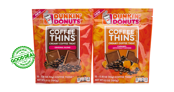 graphic about Dunkin Donuts Coffee Printable Coupons named Publix Offer upon Dunkin Donuts Espresso Thins * Coupon-Wizards