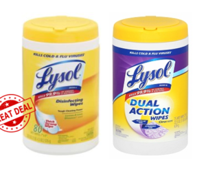 1 Publix Deal - Lysol Wipes Big Container