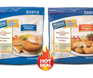 1 Publix Deal - Perdue Frozen Nuggets & Patties
