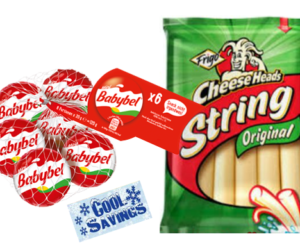 1 Target Deal - Frigo Cheese Heads & Babybel