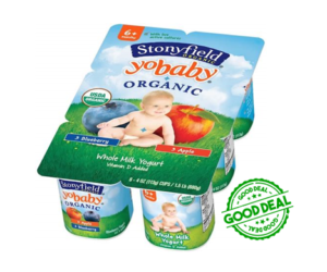 1 Target Deal - Stonyfield YoBaby 6ct