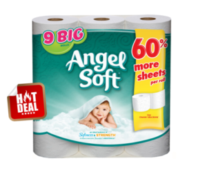 1 Walgreens Deal - Angel Soft 9 Big Rolls