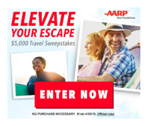 AARP Elevate Your Escape