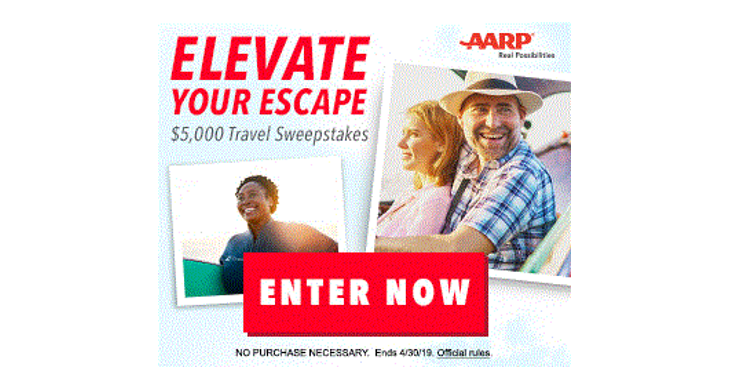 aarp sweepstakes 2019 aarp sweepstakes chance at 5000 coupon wizards 684