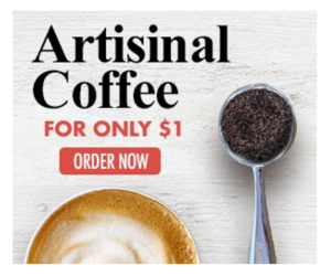 Amora Coffee 1 Bag Offer