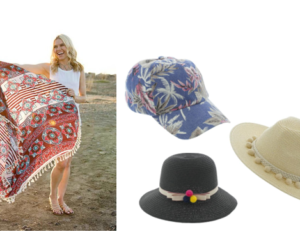 Cents of Style - Beach Wraps & Hats