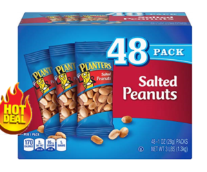 Planters Salted Peanuts 48ct