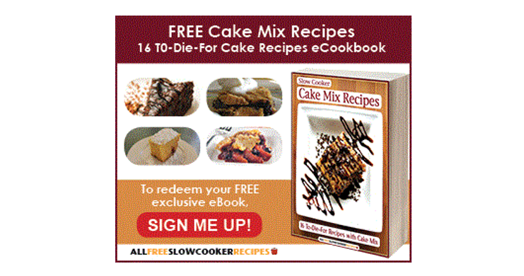 Slow Cooker Cake Recipes