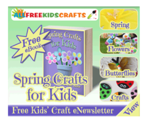 Spring Crafts for Kids