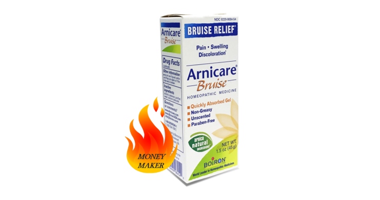 cvs deal on boiron arnicare bruise cream   coupon