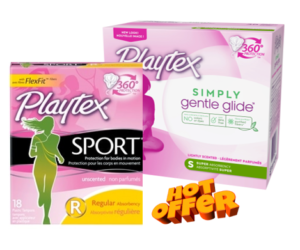 1 CVS Deal - Playtex Sport & Simply Gentle Tampons
