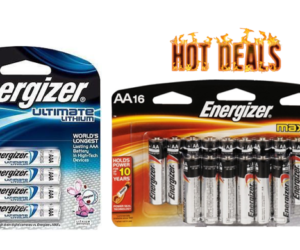 1 Publix Deal - Energizer Batteries Lithium & Max