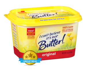 1 Publix Deal - I Can't Believe It's Not Butter Spread