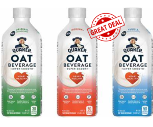 1 Publix Deal - Quaker Oat Beverage