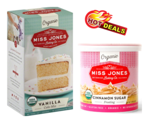 1 Target Deal - Miss Jones Baking Mix & Frosting