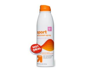 1 Target Deal - Up & Up Sport Sunscreen
