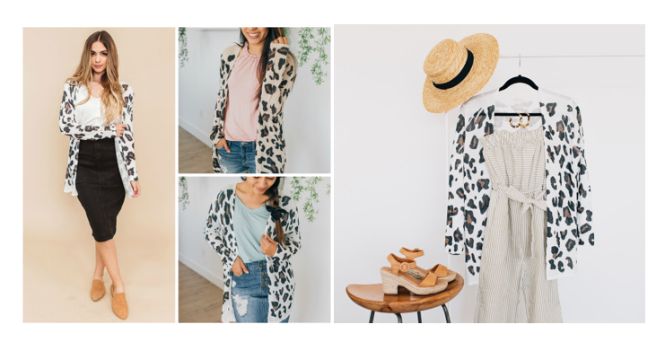Cents of Style - LINA Leopard Cardigans