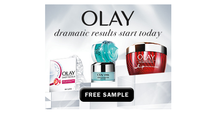 Free Sample - Olay Whips