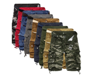 OverHalfSale - Mens Cargo Shorts