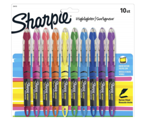 Sharpie Liquid Accent Highlighters 10ct