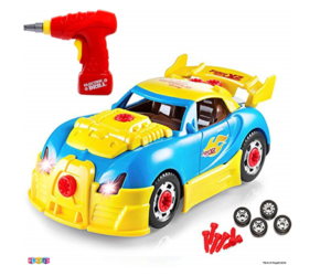 Toy Race Car with Sounds Lights