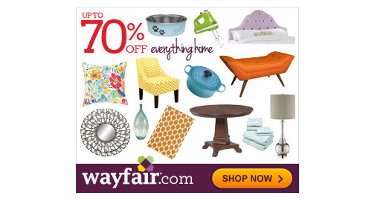 Wayfair Way Day Sale 4-11-19