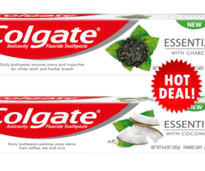 1 CVS Deal - Colgate Essentials Both TP