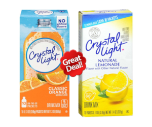 1 Publix Deal - Crystal Light Drink Mix