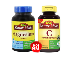 1 Publix Deal - Nature Made Vitamins new