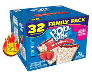 Kelloggs Straw Pop-Tarts 32ct