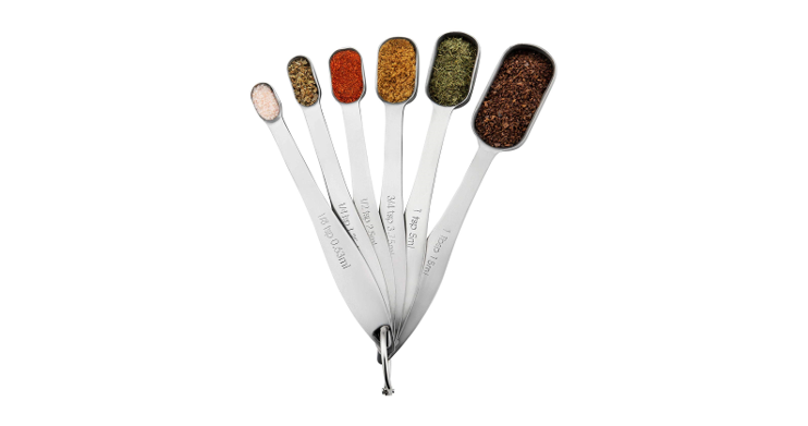 Measuring Spoons Spice Jars Fit