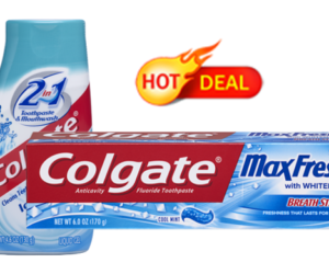 1 CVS Deal - Colgate MaxFresh 2-in1 Toothpastes