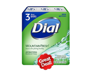 1 Publix Deal - Dial Bar Soap