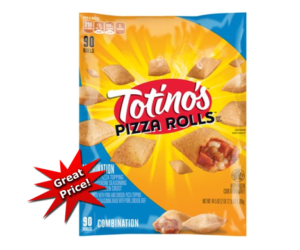 1 Publix Deal - Totino's Pizza Rolls 90ct