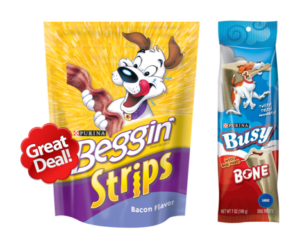 1 Target Deal - Beggin & Busy Treats