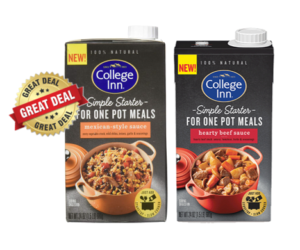 1 Publix Deal - College Inn Simple Starters